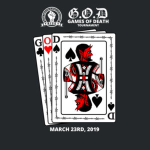 RISE - G.O.D Playing Card Shirt Design