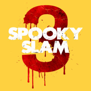 RISE - Spooky Slam 3 Logo (Double Sided) Shirt Design